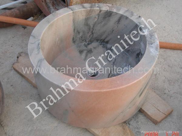 stone wash hand basins,washplane,stone vessel sinks 3