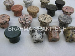 natural granite door knobs