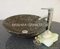 black granite stone sinks ,marble sinks