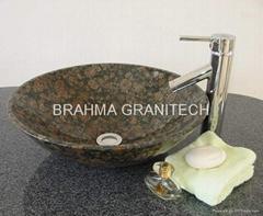 black granite stone sinks ,marble sinks,granite vessel sink