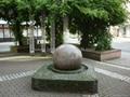 sfera marmo,fontane da giardino,Sfera rotante marmo 5