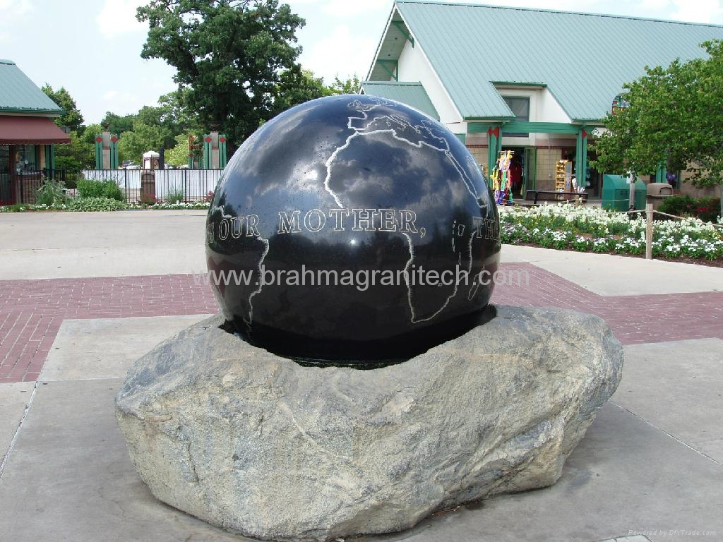 fountain balls ,sphere water feature,buy rolling ball fountain 5