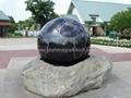 Stone ball fountains 3