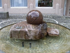 garden sphere water fountain,round ball fountain