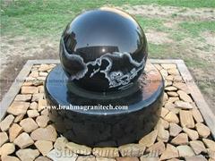 garden fountain,stone fountains,marble stone globes