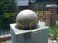 Granite water spheres,granite water balls,stone water balls 10