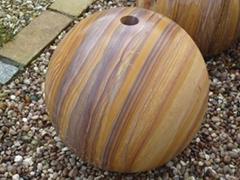 Sphere Bollards,stone balls,stone Bollards globes