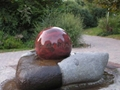 Sphere water fountains and home Garden sphere fountains 1