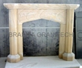marble fireplaces,stone fireplace,yellow