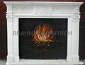 marble fireplaces,stone fireplace,yellow fireplace 2