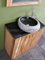 black granite stone sinks ,marble sinks,granite vessel sink 3