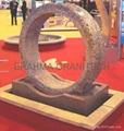 granite floaring ring fountain,ring fountain,rotating ring fountain 2