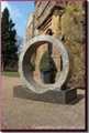 granite floaring ring fountain,ring fountain,rotating ring fountain 3