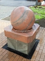 Stone ball fountains