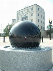 GIANT GRANITE FLOATING SPHERES,LANDSCAPE WATER FEATURE