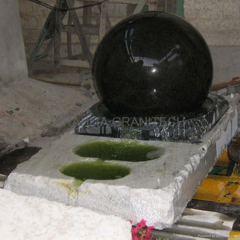 marble ball water feature,garden water feature  1