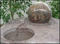 sphere water feature,sphere ball
