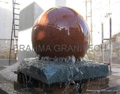BALL WATER FEATURE,ROTATING BALL FOUNTAIN,