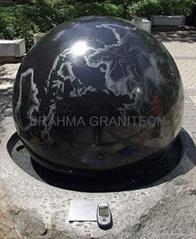 fountain balls,floating sphere fountain,stone fountain balls