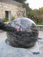 granite landscaping balls,landscape sphere