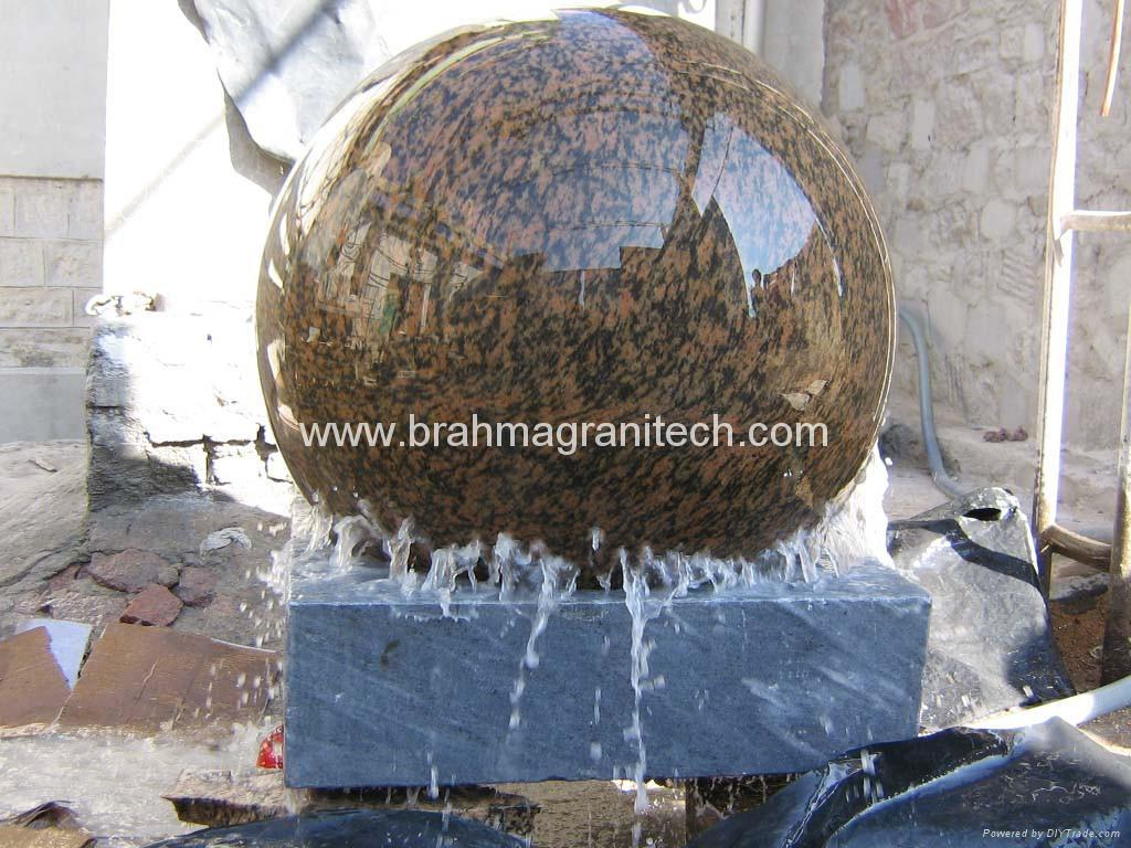 landscape ball fountain,garden sphere ,garden globes,water globes