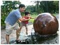 swimming ball fountains ,rotating ball