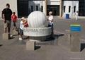 large stone ball,giant kugel ball