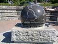 kamień piłkę,granit piłka, piłka marmuru