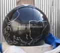 Black Marble Sphere,Granite stone balls