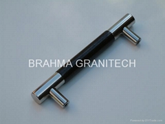 black granite handles