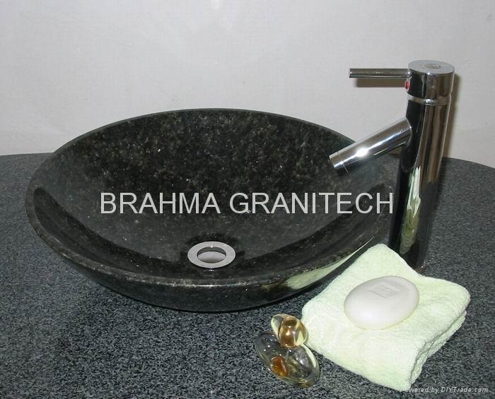 naturalny kamień umywalka, zlew granit, granit umywalka, marmurowa umywalka 1