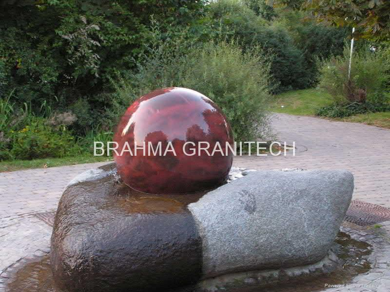 Sphere Garden Fountaingarden Ball Fountaingarden Fountain Gorgeous Stone Ball Garden Decoration