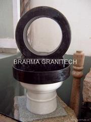 Fountain stone wheel ,granite stone wheel