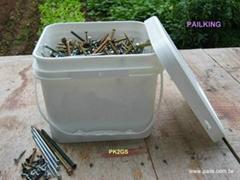 ★螺絲盒、螺絲桶、五金盒、鐵釘桶