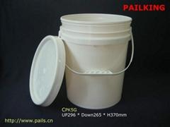 5Gallons -18.9L Plastic Pail, Plastic buckets, Pl