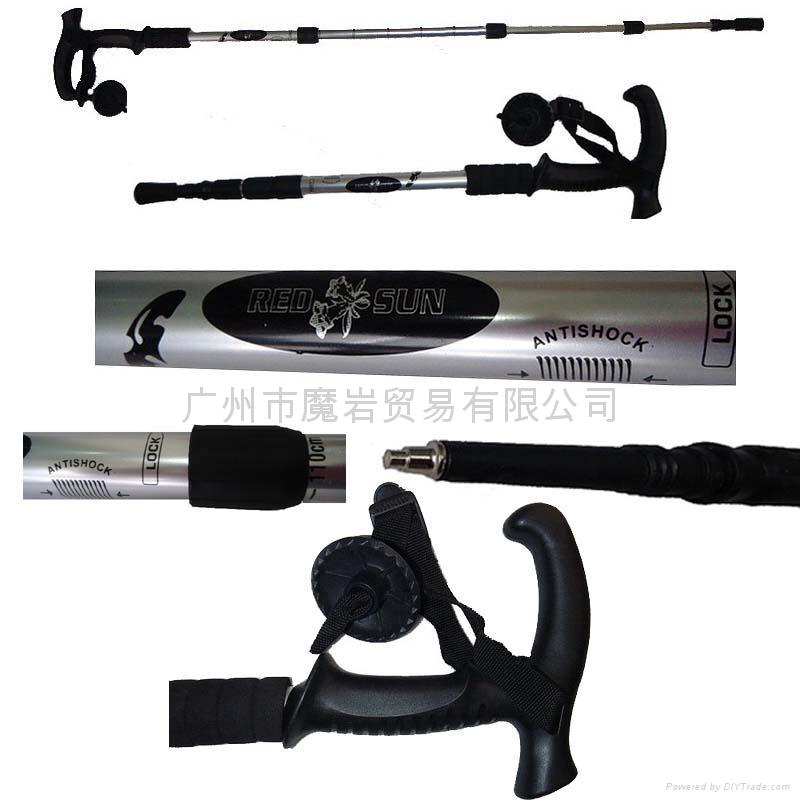 登山手杖 4