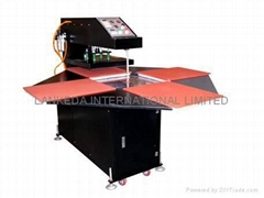 Automatic four-place aircraft rotary kiln heat press machine A