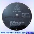 MK3 aluminium 265mm diameter round heatbed  for Delta mini 3d printer