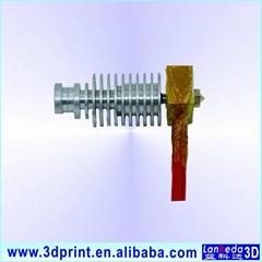 Metal version V5 hotend nozzle assembled