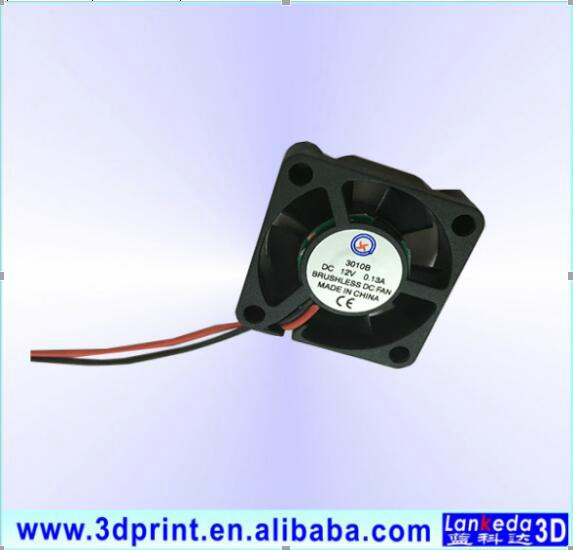 Small cooling fan 3010 with ball bearing 12V 1