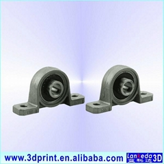 KP08 8mm bore zinc alloy bearing shaft