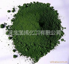 耐火材料级氧化铬绿
