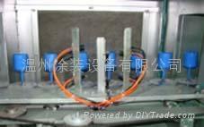 滤清器自动喷粉烘道流水线