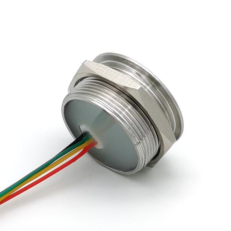 GM60 圆形金属外壳 条码二维码扫描识别模块 螺纹安装识读模组 3