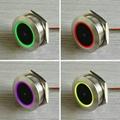 GM60 圆形金属外壳 条码二维码扫描识别模块 螺纹安装识读模组 5