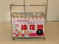 拉丝花式两用果味棉花糖机器
