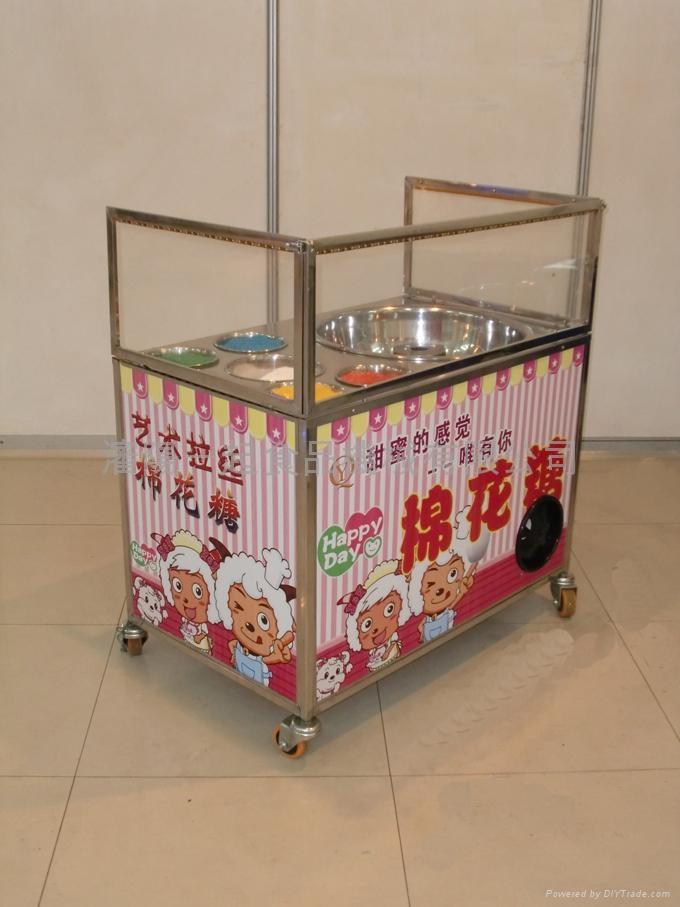 拉丝花式两用果味棉花糖机器 2
