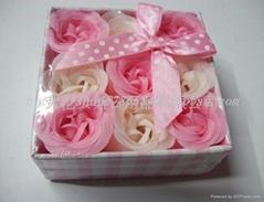 九朵纸盒香皂花