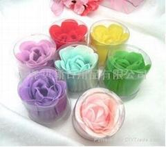 單朵香皂玫瑰花