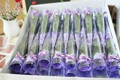 單只玫瑰香皂花